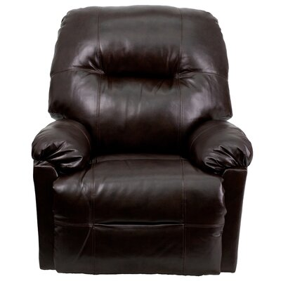 Bowler Leather Chaise Power Recliner