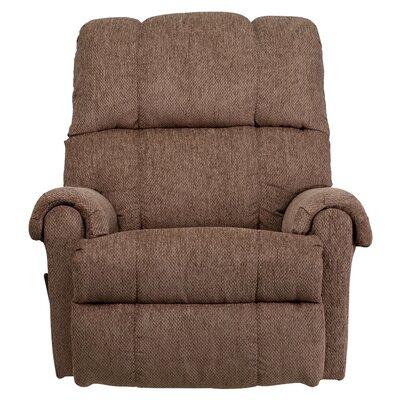 Bowler Chenille Rocker Recliner Upholstery: Tahoe Bark