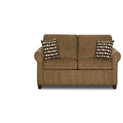 Simmons Upholstery Crittendon Sleeper Loveseat