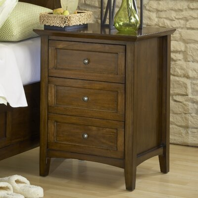 Allenville 3 Drawer Nightstand