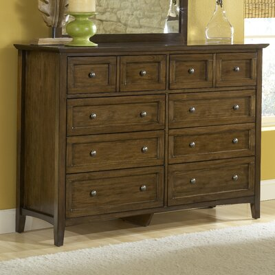 Allenville 8 Drawer Standard Dresser