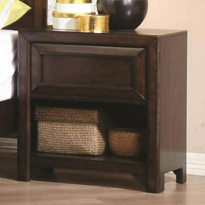 Alsey 1 Drawer Nightstand