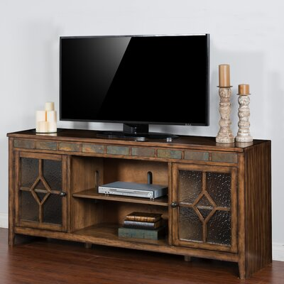 Waddell 60-72 TV Stand Width of TV Stand: 32 H x 72 W x 18 D