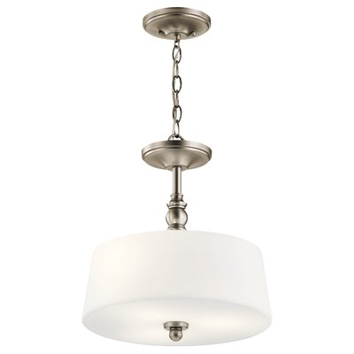 Berkeley 3-Light Drum Pendant Finish: Antique Pewter