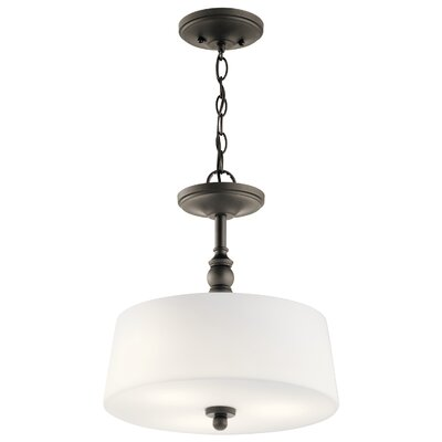 Berkeley 3-Light Drum Pendant Finish: Olde Bronze