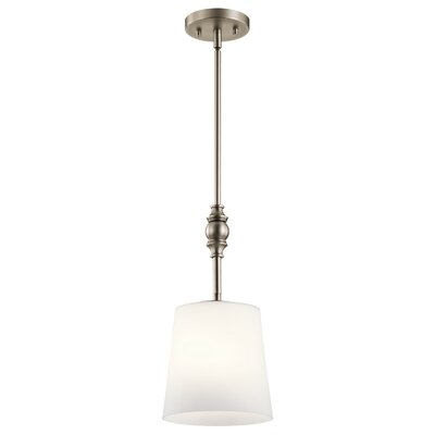 Berkeley 1-Light Mini Pendant Finish: Antique Pewter