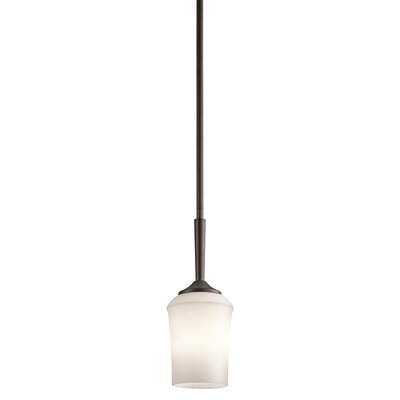Bergstrom 1-Light LED Mini Pendant Finish: Olde Bronze