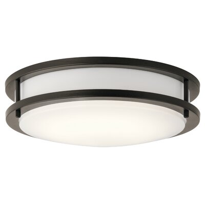Arends 1-Light LED Flush Mount Finish: Olde Bronze