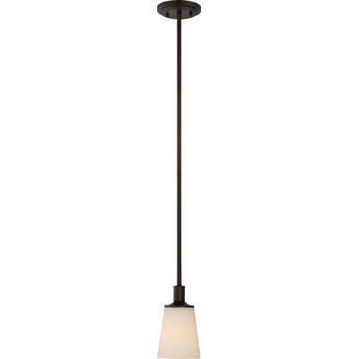 Cumberbatch 1-Light Mini Pendant Finish: Forest Bronze