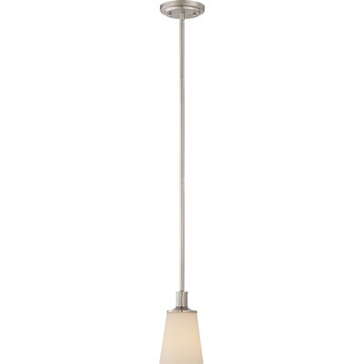 Cumberbatch 1-Light Mini Pendant Finish: Brushed Nickel