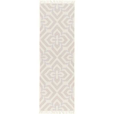 Roselawn Taupe Area Rug Rug Size: Runner 26 x 8