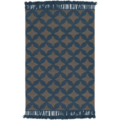 Roselawn Charcoal Area Rug Rug Size: 2 x 3