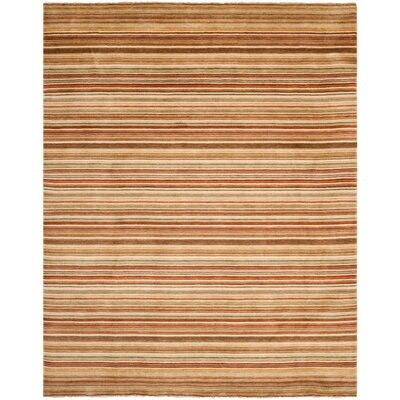 Wesley Hand-Knotted Rust Area Rug Rug Size: Rectangle 8 x 10