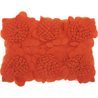 Brownell Felt Lumbar Pillow Color: Burnt Orange