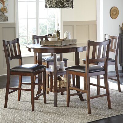 Zaftig 5 Piece Dining Set