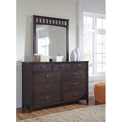 Turner Alley 9 Drawer Dresser with Mirror