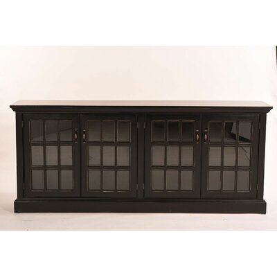Dartmouth Traditional TV Stand Color: Antique Black