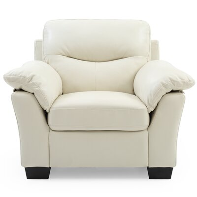 Mcleansboro Club Chair Upholstery: Pearl White