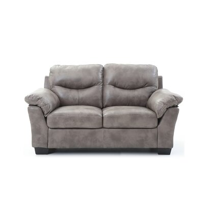 McLeansboro Loveseat Color: Gray