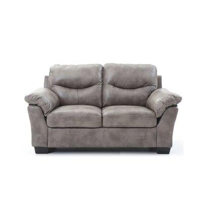 McLeansboro Loveseat Upholstery: Gray