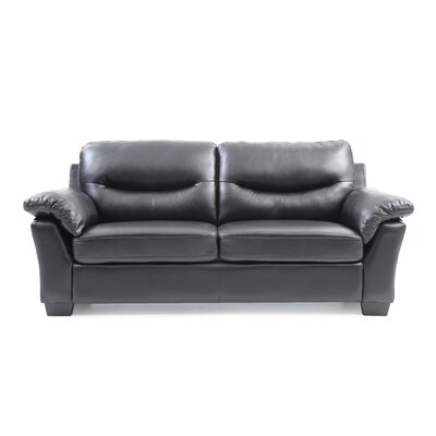 McLeansboro Sofa Color: Black
