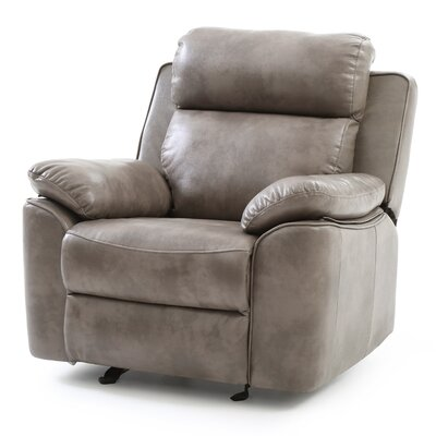 McLelland Rocker Recliner Color: Gray
