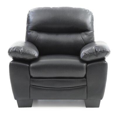 Mcnabb Armchair Upholstery: Black