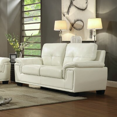 Meissner Loveseat Upholstery: Pearl
