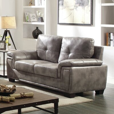 Meissner Loveseat Color: Gray