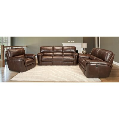 Blair Leather Configurable Living Room Set