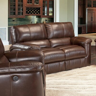 Blair Dual Leather Power Reclining Loveseat
