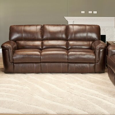 Red Barrel Studio RDBL1674 Blair Dual Leather Power Reclining Sofa