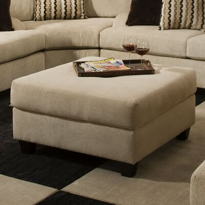 Matherville Simmons Upholstery Cocktail Ottoman