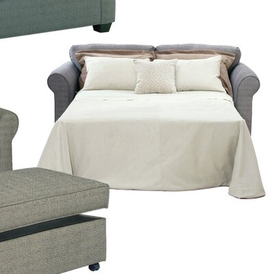 Serta Upholstery Blackmon Queen Sleeper Upholstery: Burbank Dusk / Dana Point One