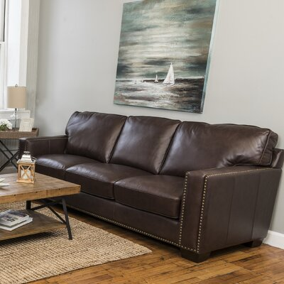 Harpe Leather Sofa