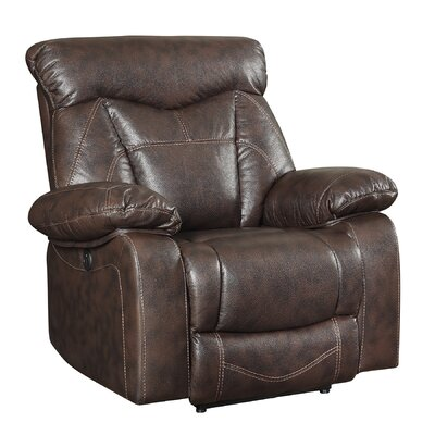 Bonenfant Motion Recliner Reclining Type: Power