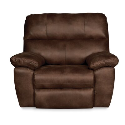 Bondville Oversized Rocker Recliner Upholstery: Chocolate