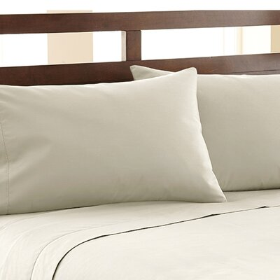 Biggsville 1200 Thread Count Cotton Blend Sheet Set Size: Queen, Color: Beige