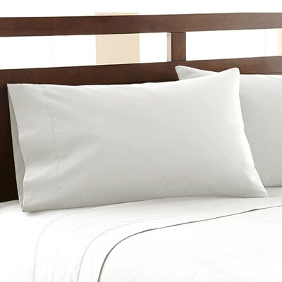 Biggsville 1200 Thread Count Cotton Blend Sheet Set Size: California King, Color: White