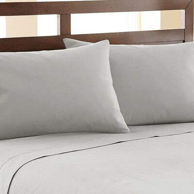 Biggsville 1200 Thread Count Cotton Blend Sheet Set Size: King, Color: Platinum