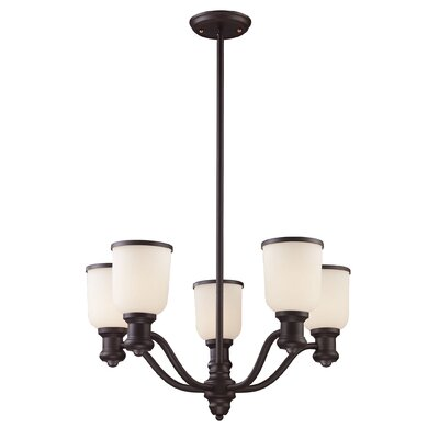 Bethalto 5-Light Shaded Chandelier
