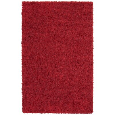 Darnae Red Area Rug Rug Size: 5 x 8