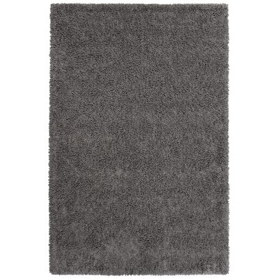 Mcginnis Hand-Tufted Graphite Area Rug Rug Size: 5 x 8