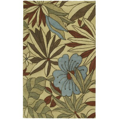 Albury Blooming Heights Ecru Area Rug Rug Size: 8 x 11