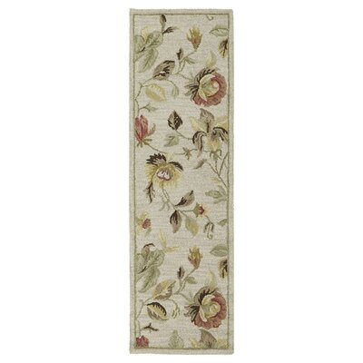 Blakeslee Linen Floral Rug Rug Size: Rectangle 96 x 13
