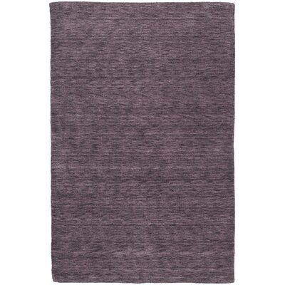 Mccabe Hand Woven Wool Purple Area Rug Rug Size: Rectangle 8 x 11