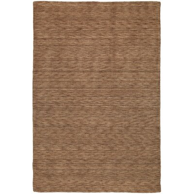 Mccabe Hand Woven Wool Brown Area Rug Rug Size: Rectangle 76 x 9
