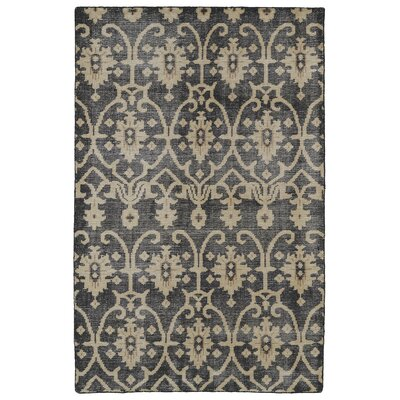 Gallego Black Area Rug Rug Size: Rectangle 56 x 86