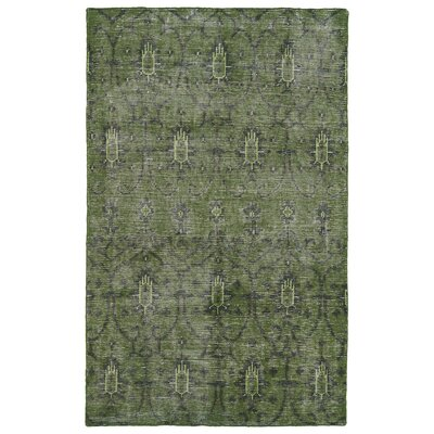 Gallego Green Area Rug Rug Size: 4' x 6'