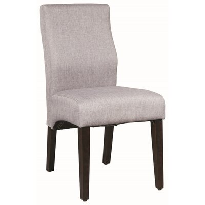 Hoi Polloi Side Chair Upholstery: Gray
